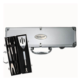 Grill Master 3pc BBQ Set-OUr Lady of the Lake University Flat Engraved