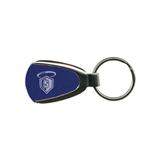 Royal Teardrop Key Holder-S in Shield w/ Halo Engraved