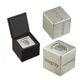 Icon Inspiration Cube-S in Shield w/ Halo Engraved