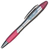 Silver/Pink Blossom Pen/Highlighter-OUr Lady of the Lake University Flat