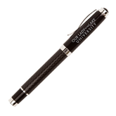 Luna Black Rollerball Pen-OUr Lady of the Lake University Flat Engraved