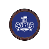 Round Coaster Frame w/Insert-Our Lady of the Lake University Athletics - Offical Logo