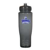 Spectrum Charcoal Sport Bottle 28oz-Our Lady of the Lake University Athletics - Offical Logo