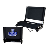 Stadium Chair Black-Our Lady of the Lake University Athletics - Offical Logo