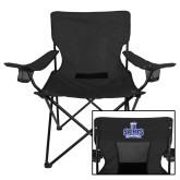 Deluxe Black Captains Chair-Our Lady of the Lake University Athletics - Offical Logo