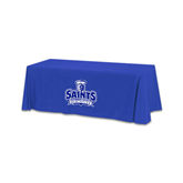Royal 6 foot Table Throw-Our Lady of the Lake University Athletics - Offical Logo
