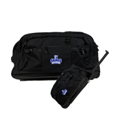 Urban Passage Wheeled Black Duffel-Our Lady of the Lake University Athletics - Offical Logo