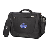 High Sierra Black Upload Business Compu Case-Our Lady of the Lake University Athletics - Offical Logo