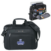 Kenneth Cole Black Vertical Checkpoint Friendly Messenger-Our Lady of the Lake University Athletics - Offical Logo