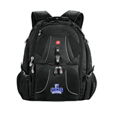 Wenger Swiss Army Mega Black Compu Backpack-Our Lady of the Lake University Athletics - Offical Logo