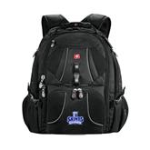 Wenger Swiss Army Mega Black Compu Backpack-Our Lady of the Lake University Athletics - Offical Logo
