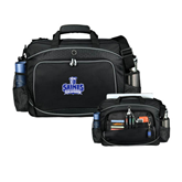 Hive Checkpoint Friendly Black Compu Case-Our Lady of the Lake University Athletics - Offical Logo