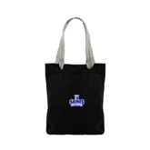 Allie Black Canvas Tote-Our Lady of the Lake University Athletics - Offical Logo