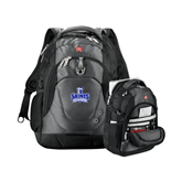 Wenger Swiss Army Tech Charcoal Compu Backpack-Our Lady of the Lake University Athletics - Offical Logo
