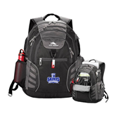 High Sierra Big Wig Black Compu Backpack-Our Lady of the Lake University Athletics - Offical Logo