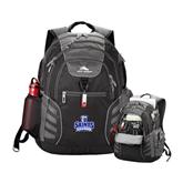 High Sierra Big Wig Black Compu Backpack-Our Lady of the Lake University Athletics - Offical Logo