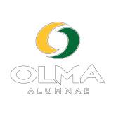 Alumni Decal-Stacked Alumnae