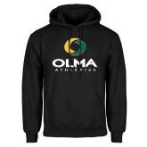 Black Fleece Hoodie-OLMA  Athletics