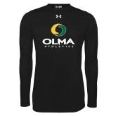 Under Armour Black Long Sleeve Tech Tee-OLMA  Athletics