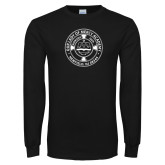 Black Long Sleeve T Shirt-School Seal