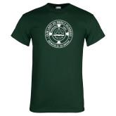 Dark Green T Shirt-School Seal
