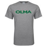 Grey T Shirt-Athletic Wordmark