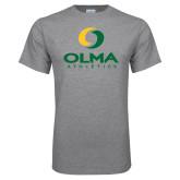 Grey T Shirt-OLMA  Athletics