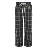 Black/Grey Flannel Pajama Pant-Primary  Athletic Mark