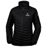 Columbia Powder Lite Ladies Black Jacket-Primary  Athletic Mark