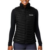 Columbia Lake 22 Ladies Black Vest-Athletic Wordmark
