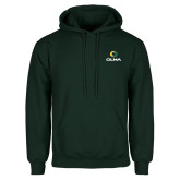 Dark Green Fleece Hood-Primary  Athletic Mark