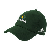 Adidas Dark Green Slouch Unstructured Low Profile Hat-Primary  Athletic Mark