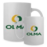 Full Color White Mug 15oz-Primary  Athletic Mark