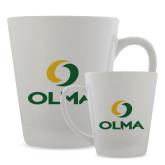Full Color Latte Mug 12oz-Primary  Athletic Mark