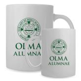 Alumni Full Color White Mug 15oz-OLMA Alumnae