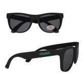 Black Sunglasses-Athletic Wordmark