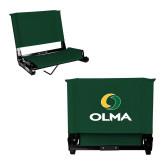 Stadium Chair Dark Green-Primary  Athletic Mark