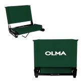 Stadium Chair Dark Green-Athletic Wordmark