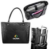Sophia Checkpoint Friendly Black Compu Tote-Primary  Athletic Mark
