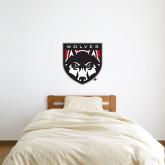 2 ft x 2 ft Fan WallSkinz-Wolves Shield