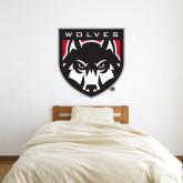 3 ft x 3 ft Fan WallSkinz-Wolves Shield