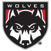 Extra Large Decal-Wolves Shield, 18 inches tall