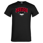 Black T Shirt-Athletics