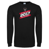 Black Long Sleeve T Shirt-Class of…, Personalized year