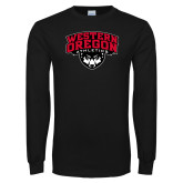 Black Long Sleeve T Shirt-Athletics