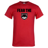 Red T Shirt-Fear The Wolves
