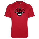 Under Armour Red Tech Tee-Softball