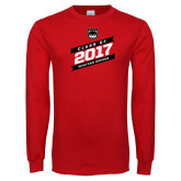 Red Long Sleeve T Shirt-Class of…, Personalized year