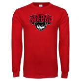 Red Long Sleeve T Shirt-Athletics