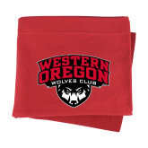 Red Sweatshirt Blanket-Wolves Club